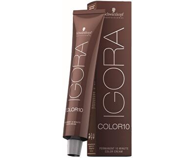 10minutová permanentní barva na vlasy Igora Color 10 (Permanent 10 Minute Color Cream) 60 ml