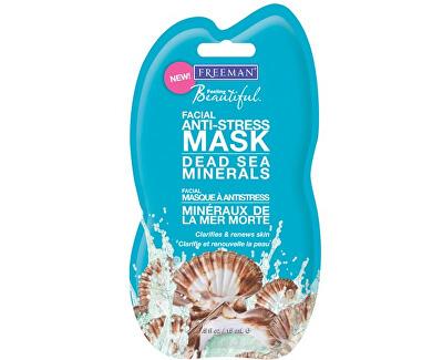 Antistresová pleťová maska s minerály z Mrtvého moře (Facial Anti-Stress Mask Dead Sea Minerals)