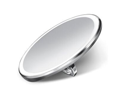 Kapesní dobíjecí kosmetické zrcátko Sensor Compact s LED osvětlením, 3x zvětšení - SLEVA - chybí ochranný přelep