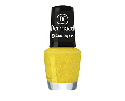 Letní mini lak na nehty (Nail Polish Mini Summer Collection) 5 ml