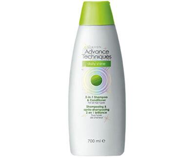 Šampon a kondicionér 2 v 1 pro všechny typy vlasů Advance Techniques Daily Shine (2-in-1 Shampoo & Conditioner)