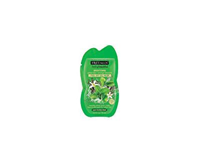 Slupovací gelová maska Zelený čaj & Pomerančový květ Feeling Beautiful (Peel Off Gel Mask)