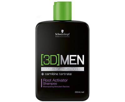 Schwarzkopf Professional Aktivační šampon pro muže 3D (Root Activator Shampoo)