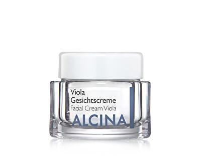 Alcina Vyživující a zklidňující krém pro vysušenou pleť Viola (Facial Cream Viola)