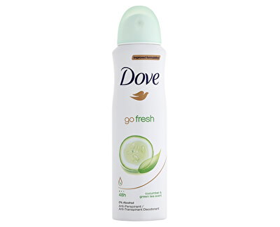 Antiperspirant ve spreji Go Fresh s vůní okurky a zeleného čaje (Cucumber & Green Tea Scent)