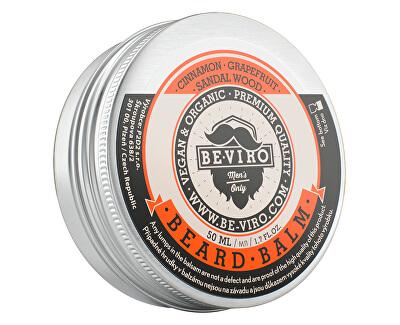Balzám na vousy s vůní grepu, skořice a santalového dřeva (Beard Balm)