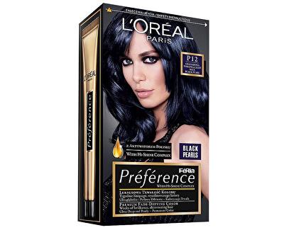 Loreal Paris Barva na vlasy Préférence Black Pearls