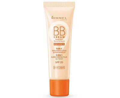 Rimmel BB krém 9v1 Radiance SPF 20 (Beauty Balm) 30 ml