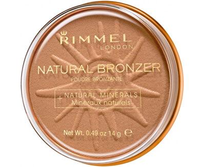 Bronzující pudr Natural Bronzer 14 g - SLEVA - poškozené víčko (prasklé)
