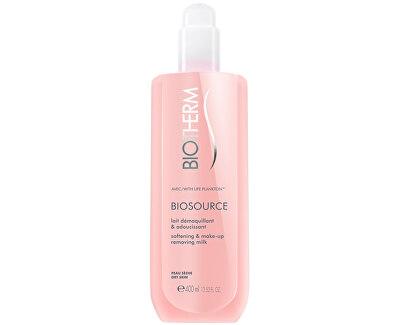 Čisticí pleťové mléko pro suchou pleť Biosource (Softening & Make-up Removing Milk) - SLEVA - chybí cca 1 cm obsahu