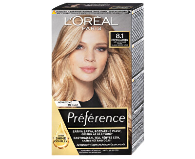 Permanentní barva na vlasy Préférence