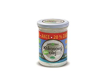 BIO Panenský kokosový olej lisovaný za studena PURITY VISION