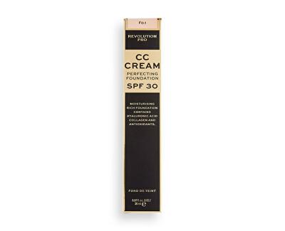 Machiaj multifuncțional pentru piele uscată până la mixtă SPF 30  CC Cream Perfecting Foundation 26 ml