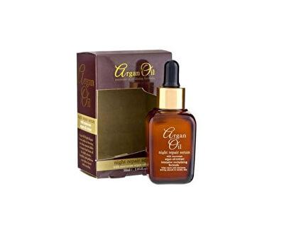 Noční pleťové sérum s arganovým olejem
