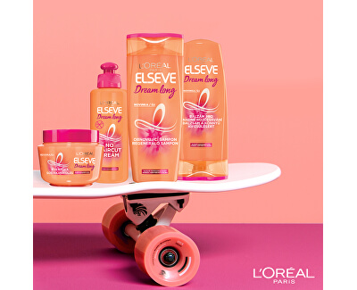 Obnovující šampon pro poškozené dlouhé vlasy Elseve Dream Long (Shampoo) - SLEVA - prasklé víčko
