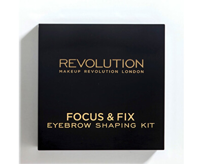 Paletka na úpravu obočí Focus & Fix Brow Kit (EyeBrow Shaping Kit)
