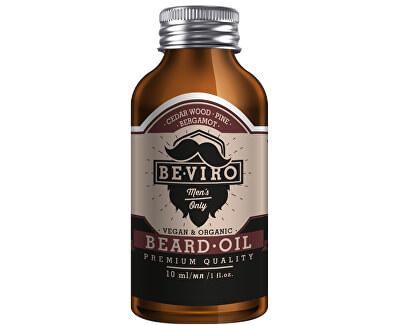 Pečující olej na vousy s vůní cedru, bergamotu a borovice (Beard Oil)