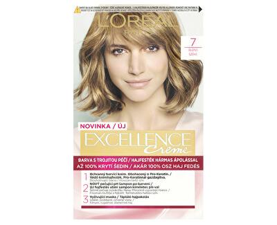 Permanentní barva na vlasy Excellence Creme - SLEVA - pomačkaná krabička