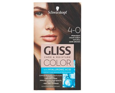 Permanentní barva na vlasy Gliss Color