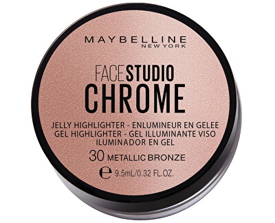 Rozjasňovač Face Studio Chrome (Jelly Highlighter) 9,5 ml