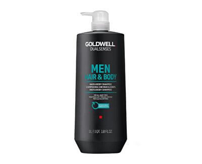 Šampon a sprchový gel pro muže Dualsenses Men (Hair & Body Shampoo)