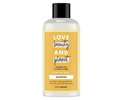 Šampon na suché a poškozené vlasy s ylang-ylang a kokosovým olejem (Hope and Repair Shampoo)