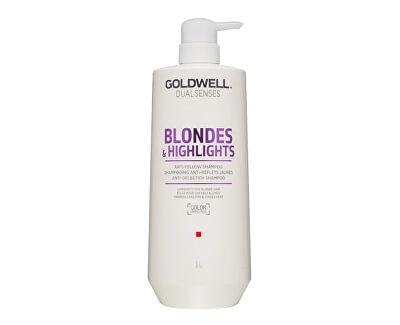 Šampon pro blond a melírované vlasy Dualsenses Blondes & Highlights (Anti-Yellow Shampoo)