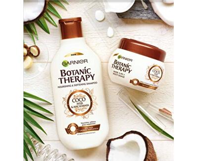 Vyživujúce a zvláčňujúci šampón pre suché a hrubé vlasy Botanic Therapy (Coco Milk & Macadamia Shampoo)