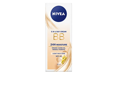 Zkrášlující hydratační krém 5 v 1 BB Cream SPF 20 (5in1 Beautifying Moisturizer) 50 ml
