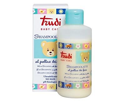 Dětské šamponové mléko s květinovým pylem