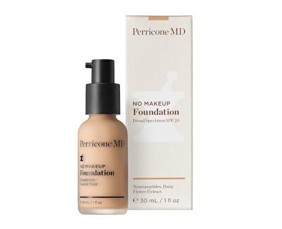 Dlouhotrvající tekutý make-up pro perfektní vzhled No Makeup SPF 20 (Foundation) 30 ml