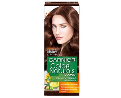 Dlouhotrvající vyživující barva na vlasy (Color natural Creme)