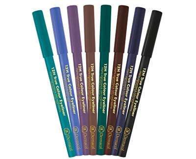 Dřevěná tužka na oči 12H (True Colour Eyeliner) 2 g