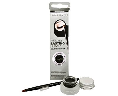 Maybelline Gelové oční linky Eyestudio Lasting Drama (Gel Eyeliner 24H) 2,8 g