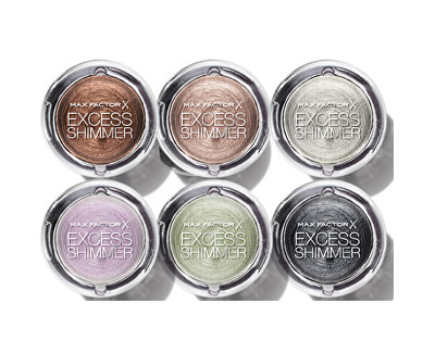 Max Factor Gelové oční stíny Excess Shimmer Eyeshadow