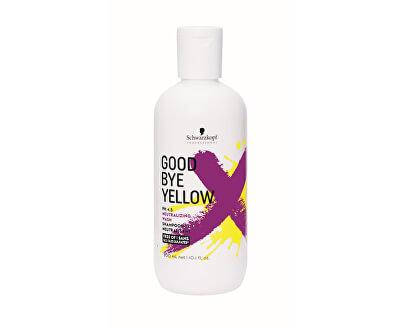 Šampon pro neutralizaci žlutých tónů barvených a melírovaných vlasů Goodbye Yellow