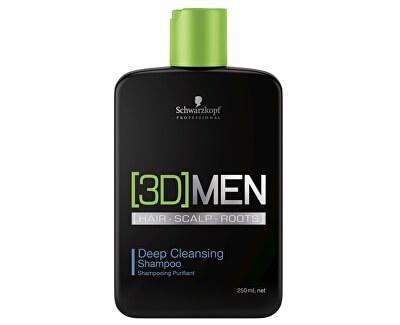 Hloubkově čisticí šampon pro muže 3D (Deep Cleansing Shampoo)