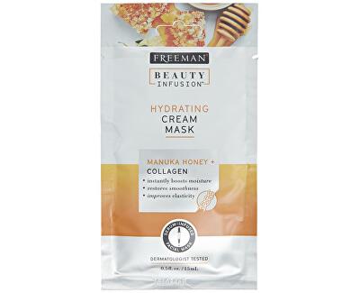Hydratační krémová maska Manukový med a kolagen Beauty Infusion (Hydrating Cream Mask) 118 ml - SLEVA - prasklé víčko