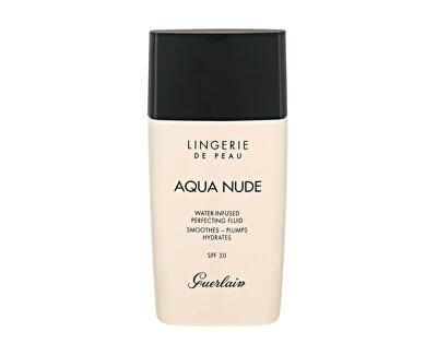 Hydratační make-up SPF 20 Lingerie de Peau Aqua Nude (Water-Infused Perfecting Fluid) 30 ml