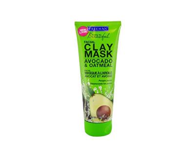 Freeman Jílová pleťová maska s avokádem a ovsem (Facial Clay Mask Avocado & Oatmeal)