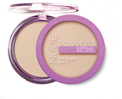Kompaktní pudr Nude Powder with Argan SPF 15 8 g