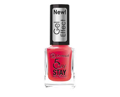 Lak na nehty s gelovým efektem 5 Day Stay (Nail Polish Gel Effect) 12 ml