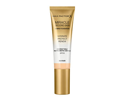 Miracle Touch Second Skin SPF 20 (Hybrid Foundation) 30 ml