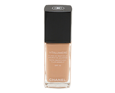 Chanel Make-up pro mladší a odpočatý vzhled Vitalumiére (Satin Smoothing Fluid Make-up SPF 15) 30 ml