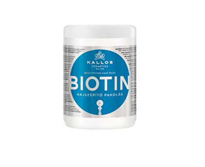 Maska na vlasy s biotinem (Biotin Beautifying Hair Mask)