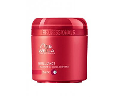Wella Professional Maska pro silné barvené vlasy Brilliance (Treatment For Coarse Colored Hair)