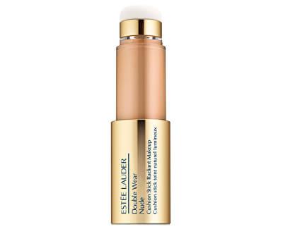 Multifunkční make-up s aplikátorem Double Wear Nude (Cushion Stick Radiant Make-Up) 14 ml
