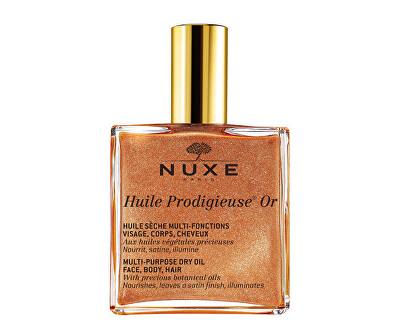 Multifunkční suchý olej se třpytkami Huile Prodigieuse OR (Multi-Purpose Dry Oil)