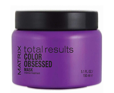Matrix Obnovující maska pro barvené vlasy Total Results Color Obsessed (Mask Intense Treatment)