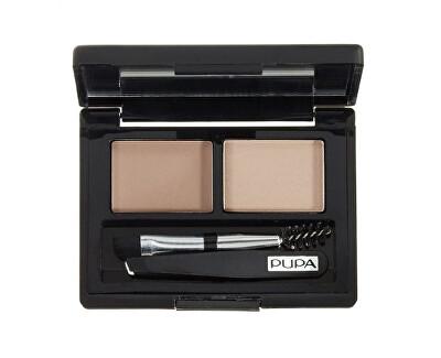 Paletka na úpravu obočí (Eyebrow Design Set) 1,1 g